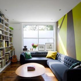 Bibliothèques pour le plafond de la pièce