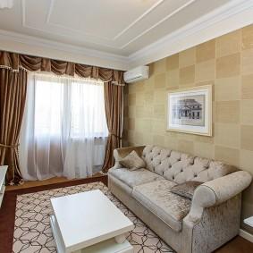 Petite chambre de style classique