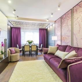 Style néoclassique à l'intérieur de l'appartement