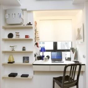 Petites étagères pour objets décoratifs