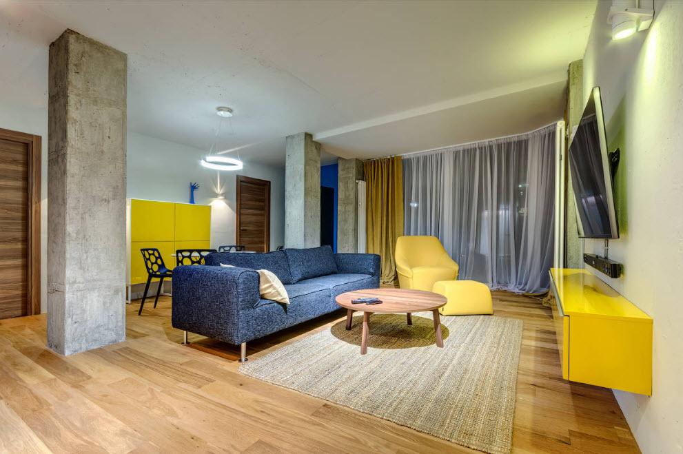 Phân vùng nội thất trong căn hộ
