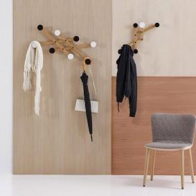 cintres muraux dans le couloir idées de photos