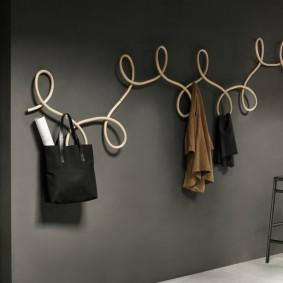 cintres muraux dans les idées de conception de couloir