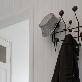 cintres muraux dans le couloir photo intérieure