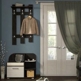 cintres muraux dans le couloir photo décoration