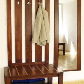 cintres muraux dans les options de photo de couloir