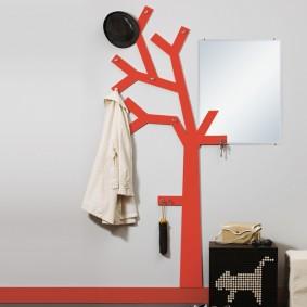 cintres muraux dans les idées d'options de couloir