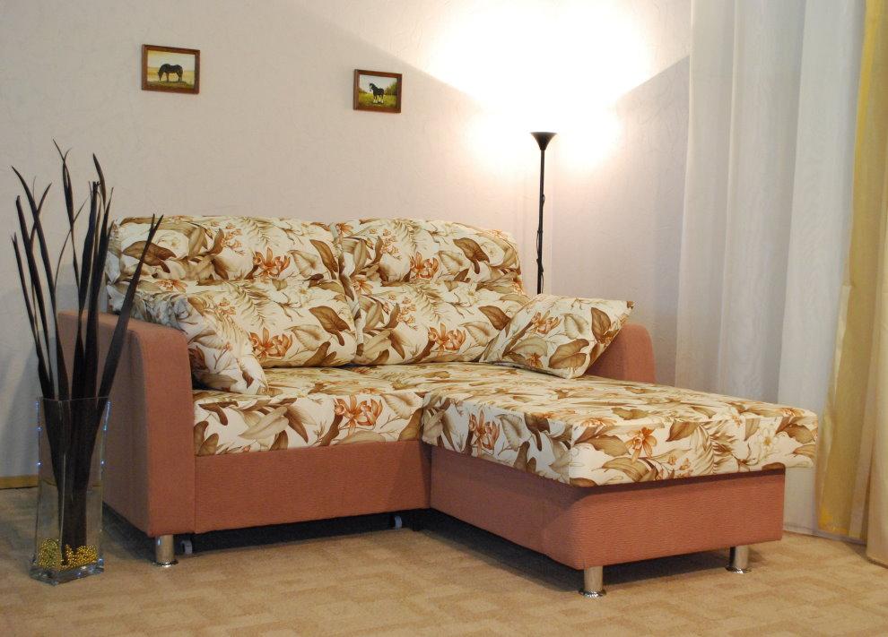 Petit canapé d'angle pliant