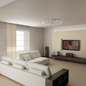 Tối giản trong nội thất của một căn hộ hiện đại