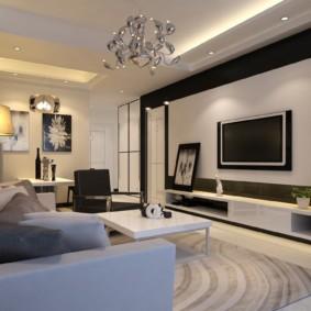 Phòng phong cách trong một căn hộ thành phố