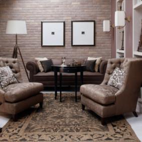 Bức tranh mô-đun trên tường của phòng khách