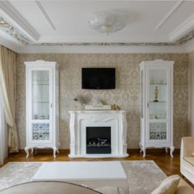 Bảng trắng trong phòng khách
