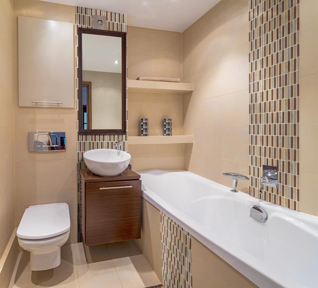 phòng tắm mới ở Khrushchev
