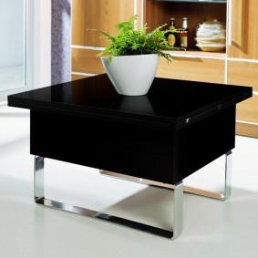 Table pliée
