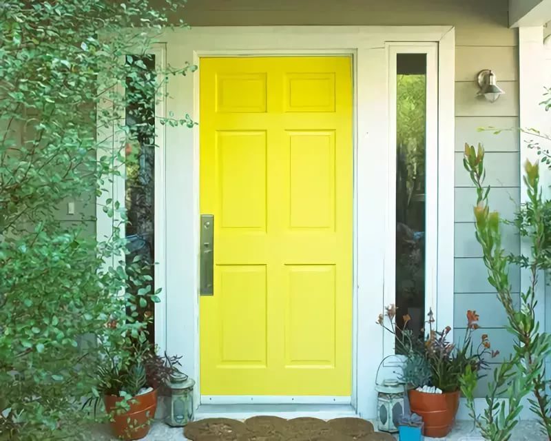 idées de conception de porte d'entrée en bois