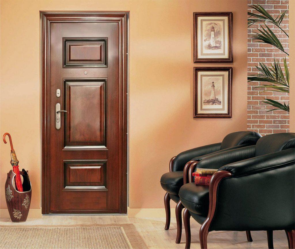 idées de porte d'entrée en bois