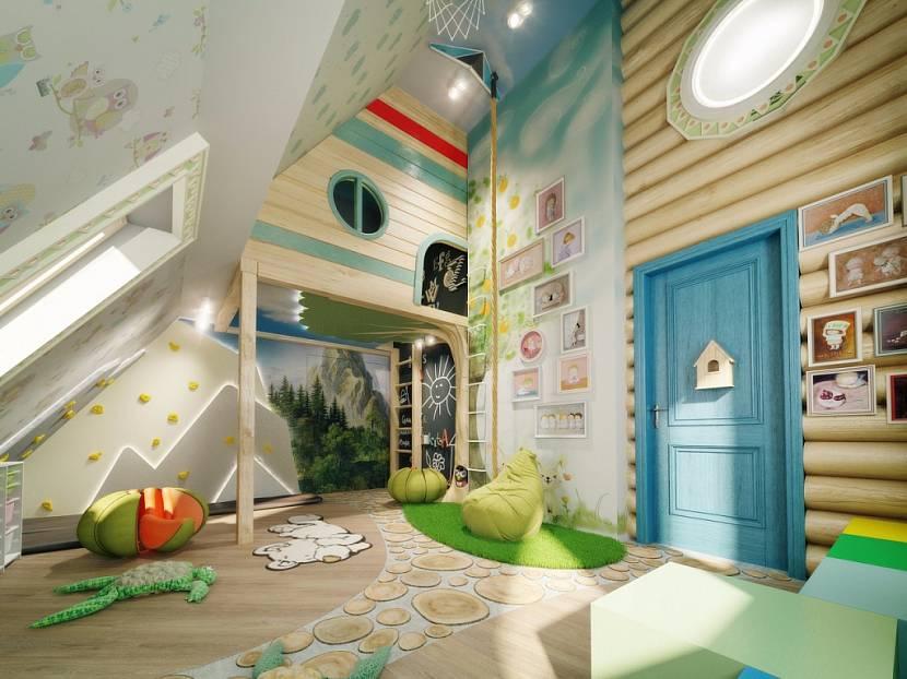 photo de décor de salle de jeux pour enfants