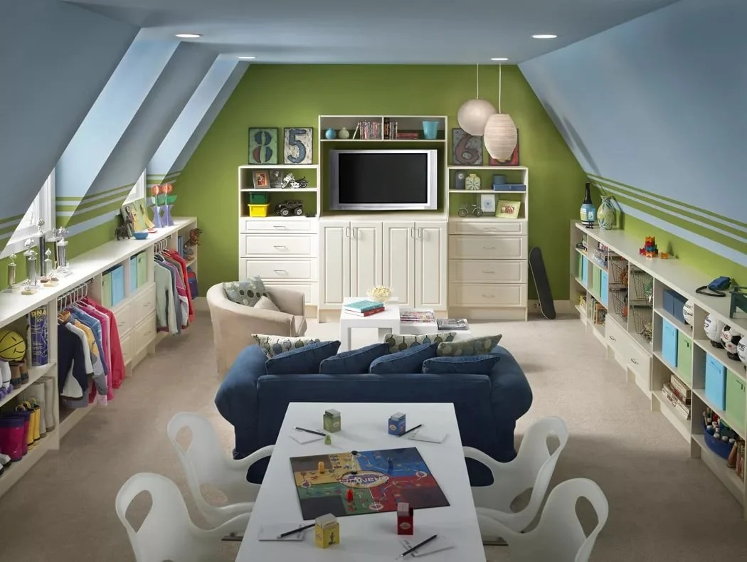 idées de salle de jeux pour enfants