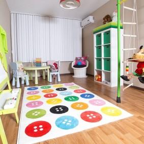 conception de photo de salle de jeux pour enfants