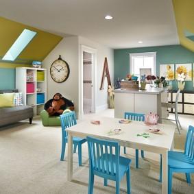 idées de décoration de salle de jeux pour enfants