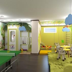 options de salle de jeux pour enfants