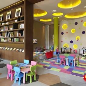 salle de jeux pour enfants types de photos