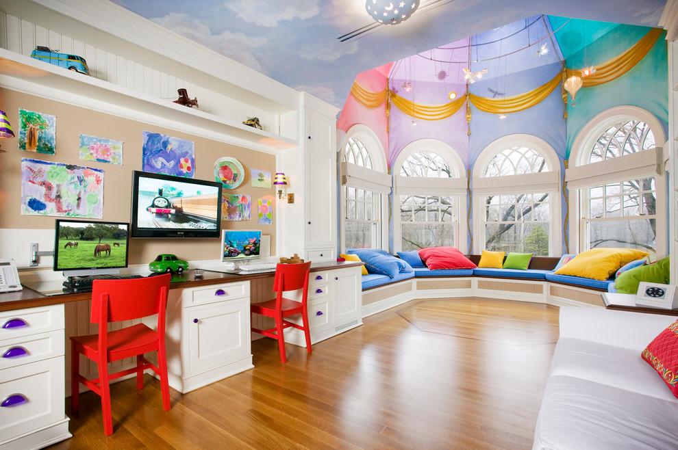 conception de plafond de salle de jeux pour enfants