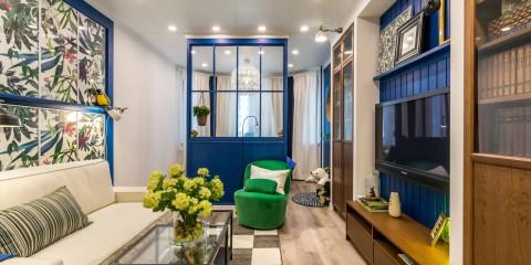 appartement d'une chambre Khrouchtchev photo design