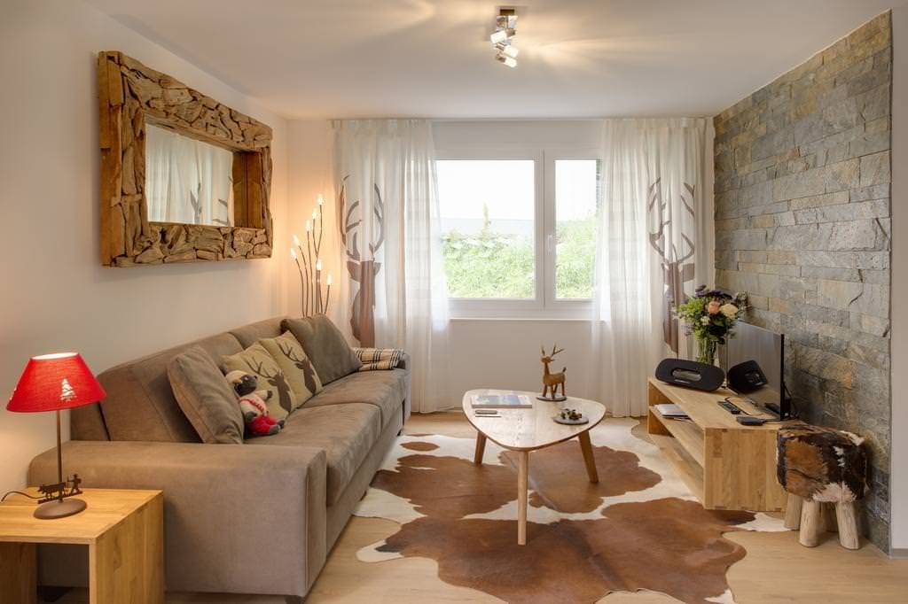 Eco-style dans un petit salon
