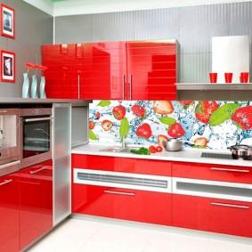 tablier pour cuisine de décor photo mdf