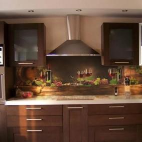 tablier de cuisine en MDF photo decor