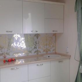 tablier pour cuisine de l'intérieur photo mdf