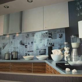 tablier de cuisine en décoration photo mdf