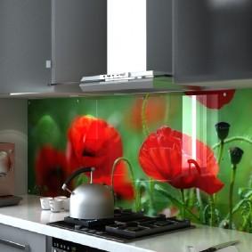 tablier pour cuisine de mdf design photo