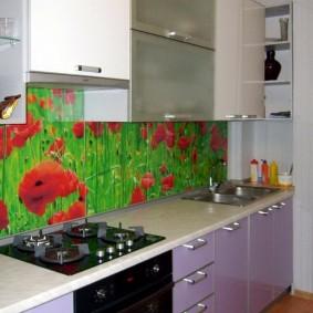 tablier pour cuisine à partir d'idées de conception mdf