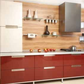 tablier de cuisine en MDF types de décoration