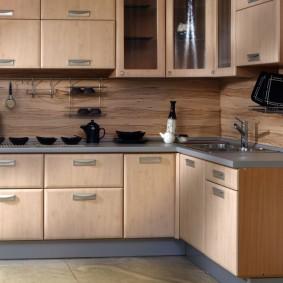 tablier pour cuisine de mdf photo design
