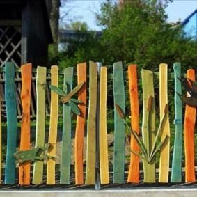 clôture en bois d'origine