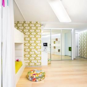 Papiers peints en papier high-tech pour enfants.