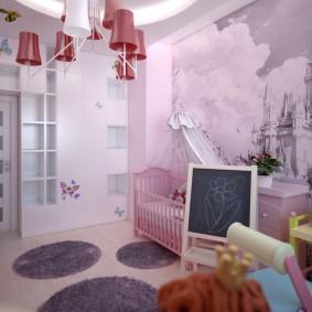 Chevalet pour enfants avec ardoise