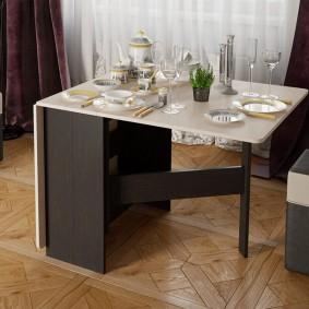 Set de table sur la surface de la table