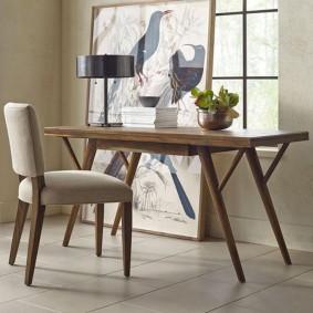 Table en bois à usage général