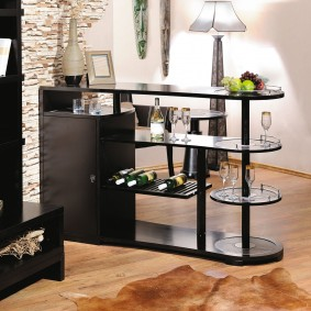 Support de table pour le salon-cuisine