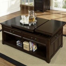 Table transformateur en bois cher