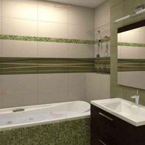 Conception de salle de bain minimaliste