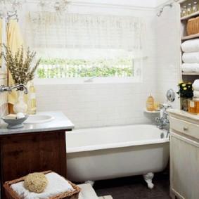Salle de bain de style Provence française
