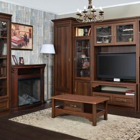 Nội thất từ gỗ MDF cho phòng khách
