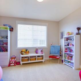 décor de chambre d'enfants