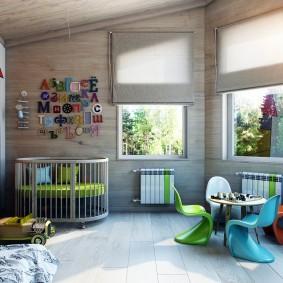 salle de jeux chambre d'enfants décor photo