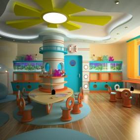 idées enfants salle de jeux
